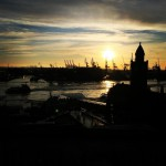Hamburg Hafen ohne Angel dichtamfisch 040 hamburgerhafen sonnenuntergang hhcity schonzeithellip