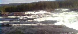 Fluss in Norwegen