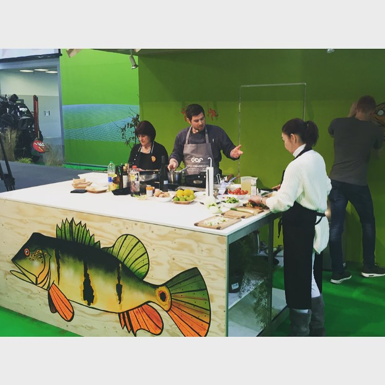 fishart and cooking at the boot in Dsseldorf Visit ushellip