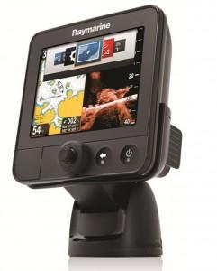 Hightech - Echolot im oberen Preissegment mit GPS und Kartenplotter