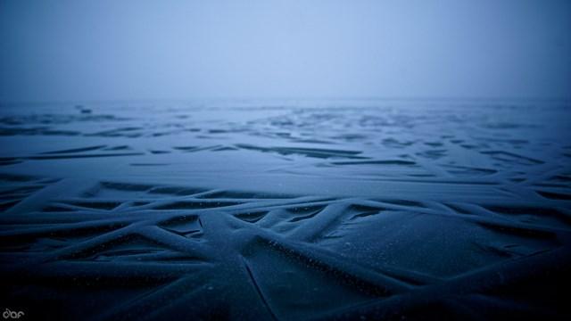 Eisformation auf dem Plauer See