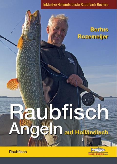 Das Cover von Raubfischangeln auf Holländisch