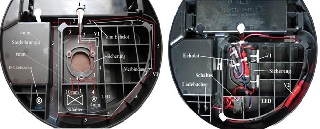 Kabelverlegung und technischer Umbau