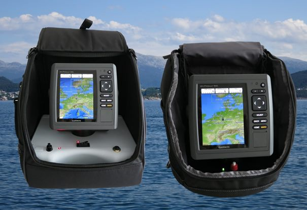 Think Big  links, Garmin echo portable rechts