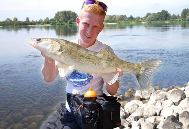 Hüfttasche für Angler -Test