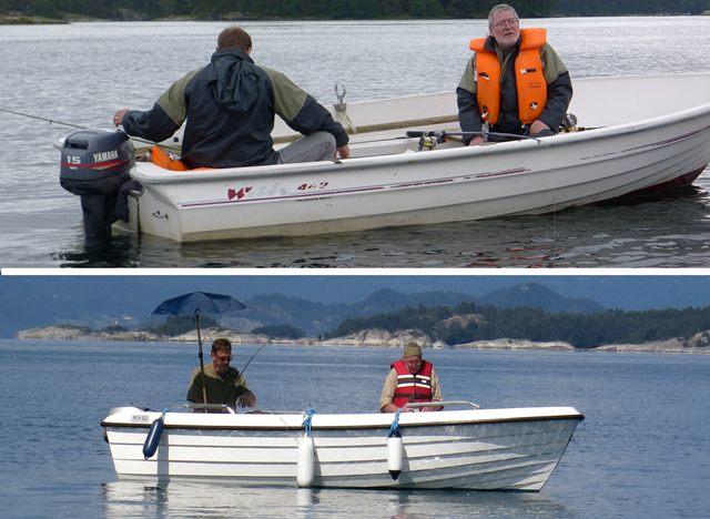 Beispiel Boote für Angler