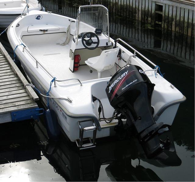 Uttern A56 als Leihboot
