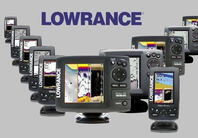 Lowrance bis 500,-