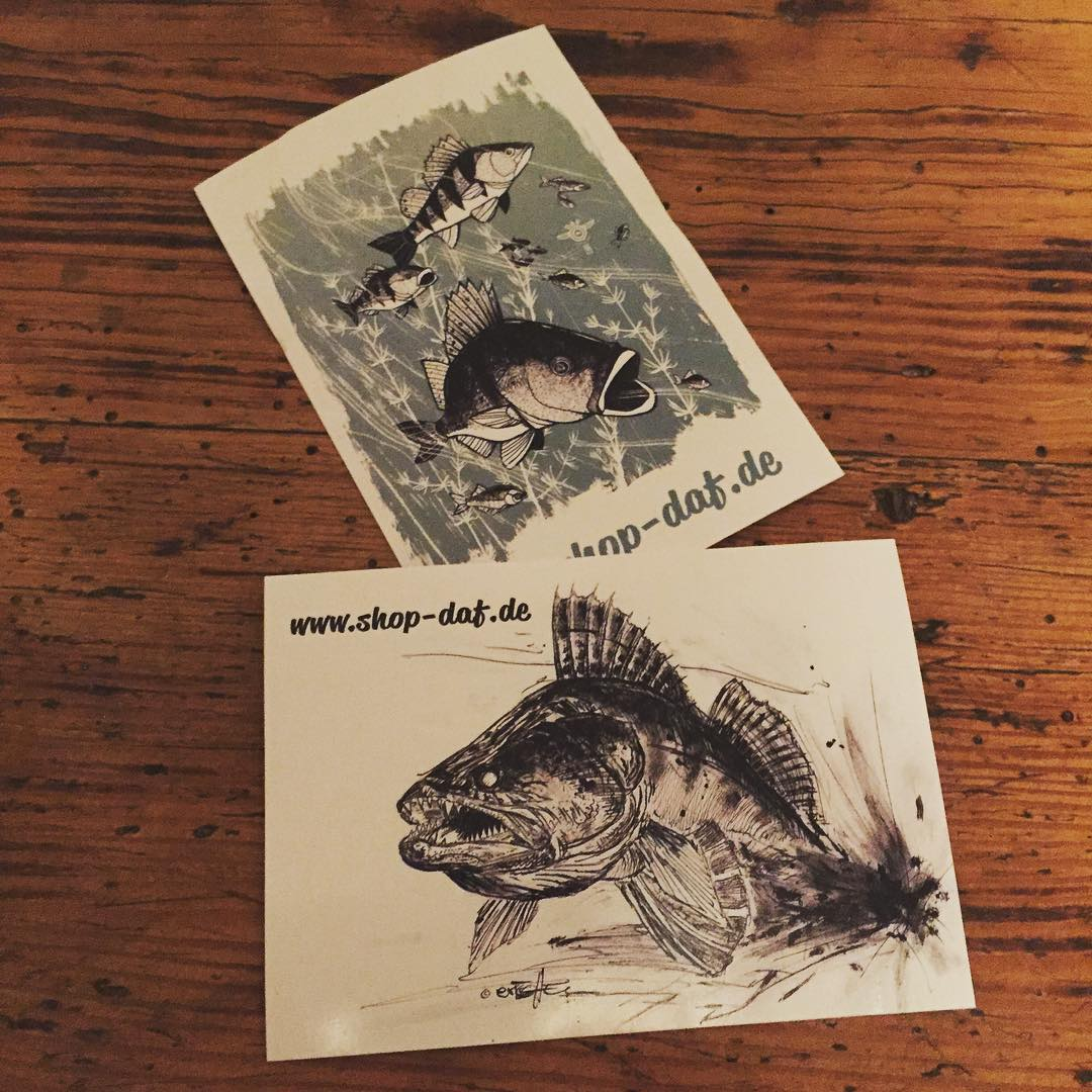Neue Sticker sind eingetroffen sind bei jeder Bestellung dabei dichtamfischhellip