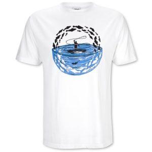 Eins von verschieden Shirts im DaF Shop