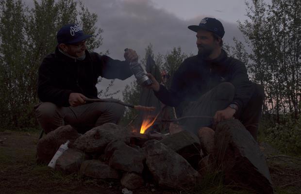 Lagerfeuer Schweden