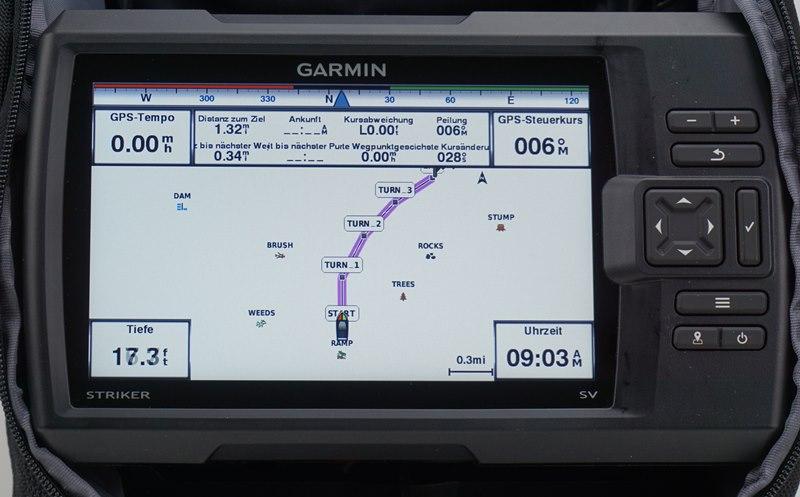 Garmin Echolote Navigationshilfe