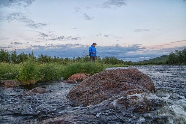 Angelreise nach Lappland