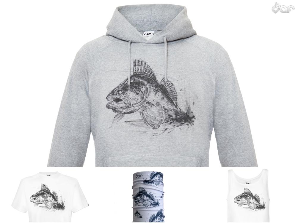 """Shirts, Hoody und Kunst mit dem """"Zanderstrike"""" im DaF Sop"""