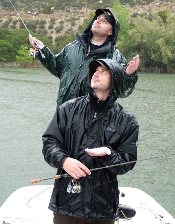 Typisch spanisches Wetter am Ebro