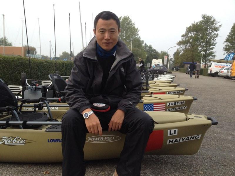 """Haiyang Li der """"Macher"""" von Lurefans"""
