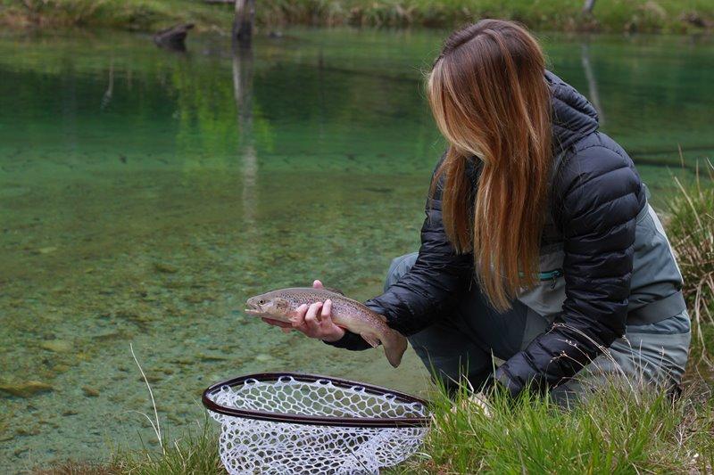 Fliegenfischen in  Österreich: Die Großarler Ache kurz Großarlbach