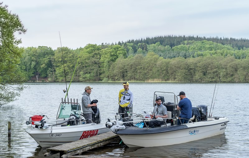 Angeln mit Franz von Lakefishing Denmark