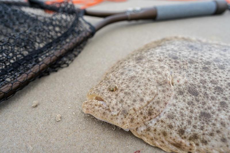 Ausrüstung zum Steinbuttfischen